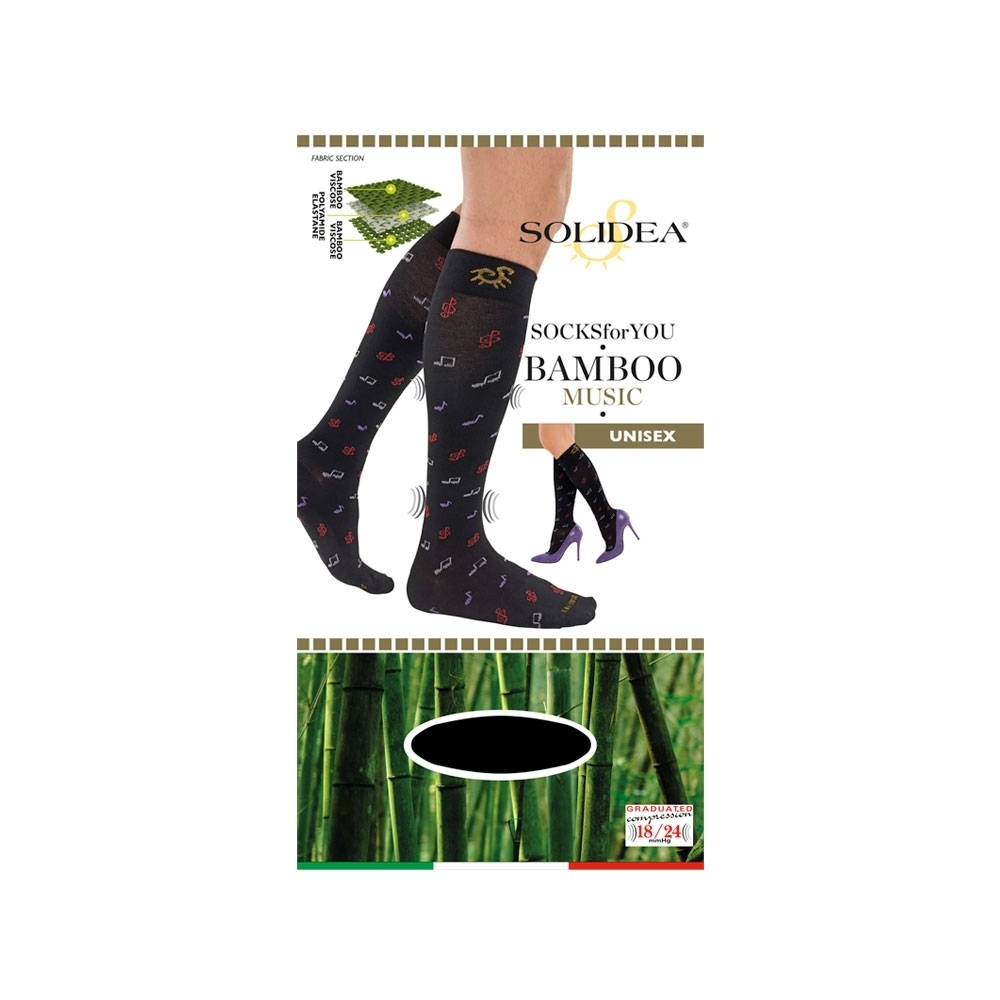 Socks for you Bamboo Music - Solidea 0579A4