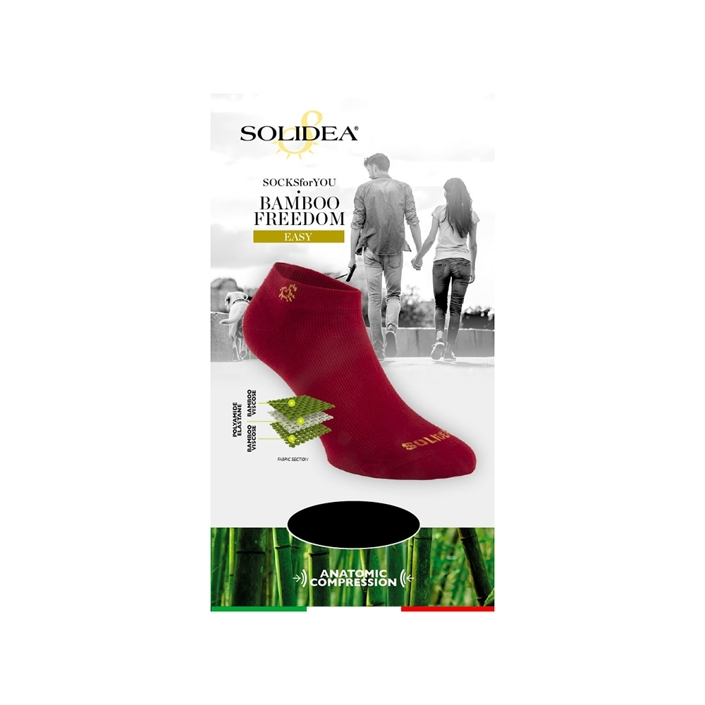 Socks for you Bamboo Freedom Easy - Solidea 0586A4