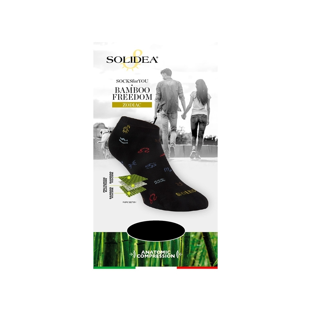 Socks for you Bamboo Freedom Zodiac - Solidea 0588A4