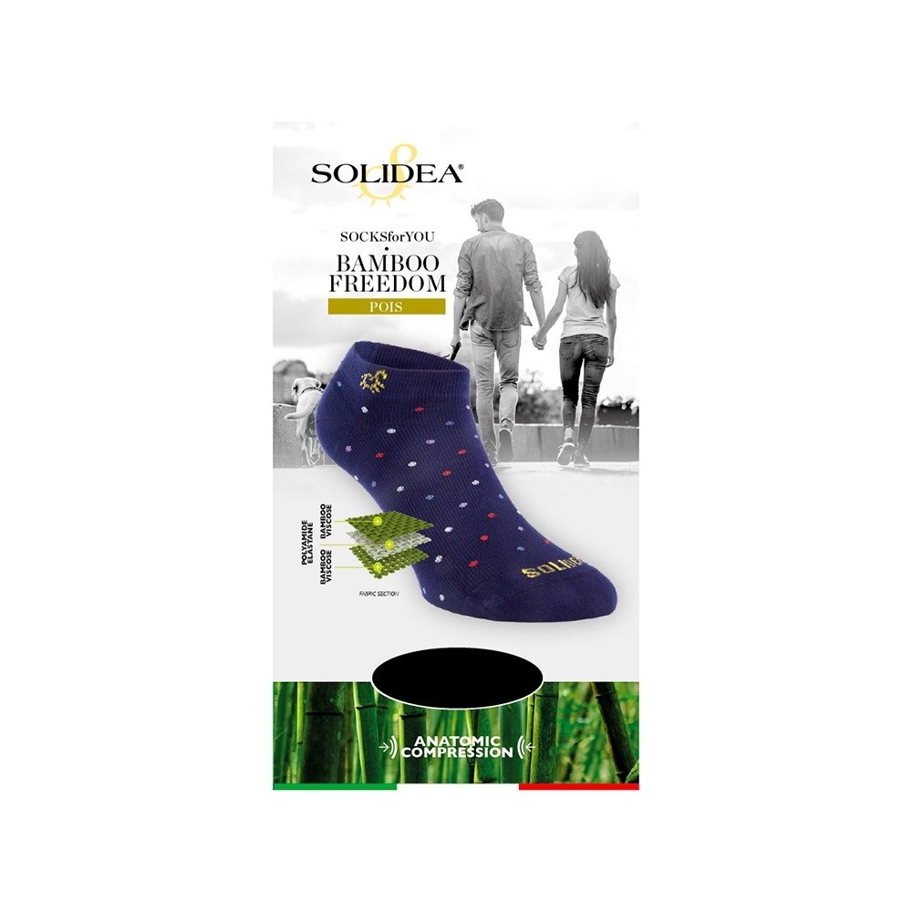 Socks for you Bamboo Freedom Pois - Solidea 0589A4