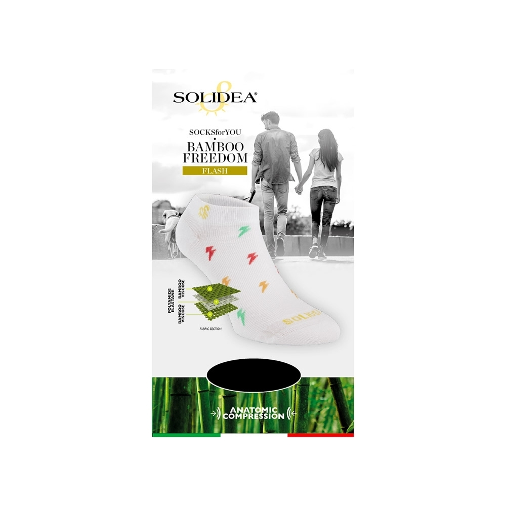 Socks for you Bamboo Freedom Flash - Solidea 0590A4